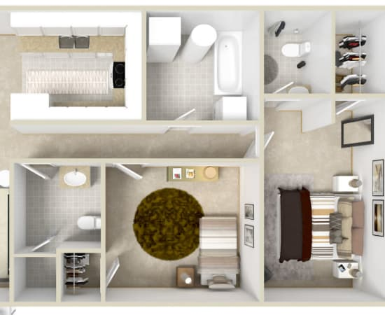 Floor Plans at Horizon Ridge Apartments in East Greenbush
