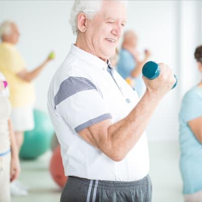 Physical engagement at Milestone Retirement Communities