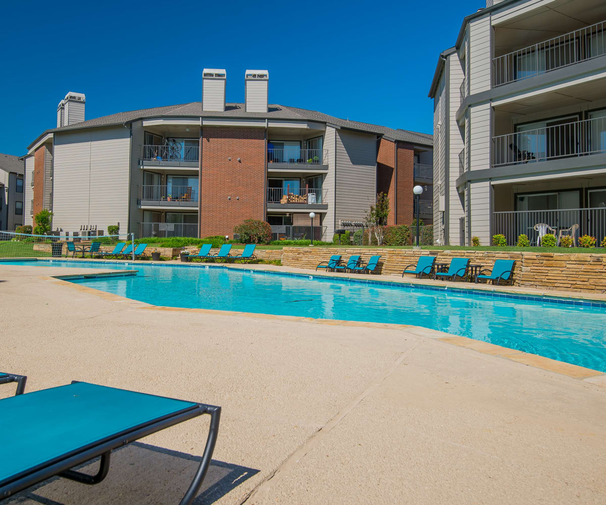 Pool at Hunter's Ridge in Oklahoma City, Oklahoma