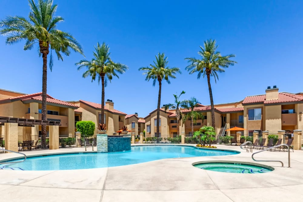 Our Apartments in Glendale, Arizona offer a Swimming Pool