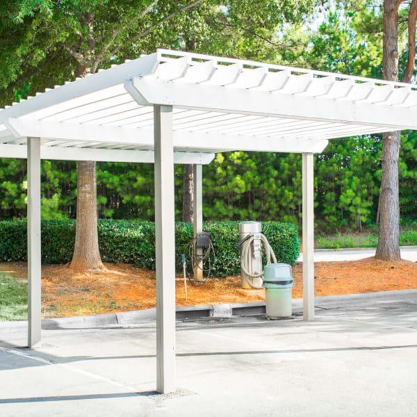 Carwash Station at The Seasons at Umstead in Raleigh, North Carolina