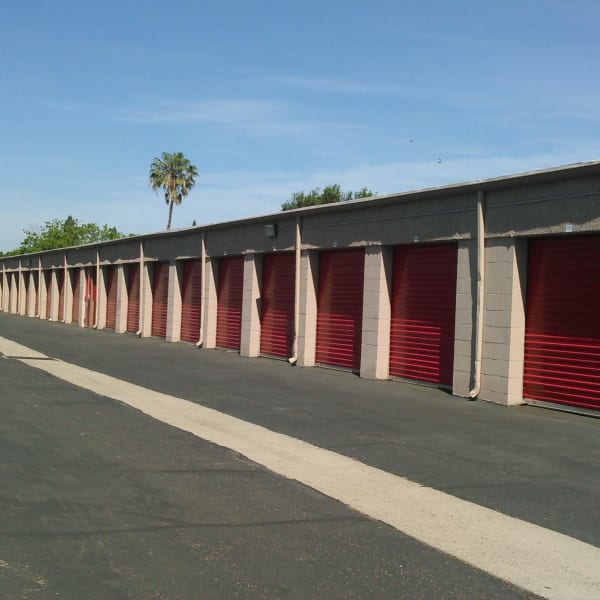Exterior units at StorQuest Self Storage in Camarillo, California