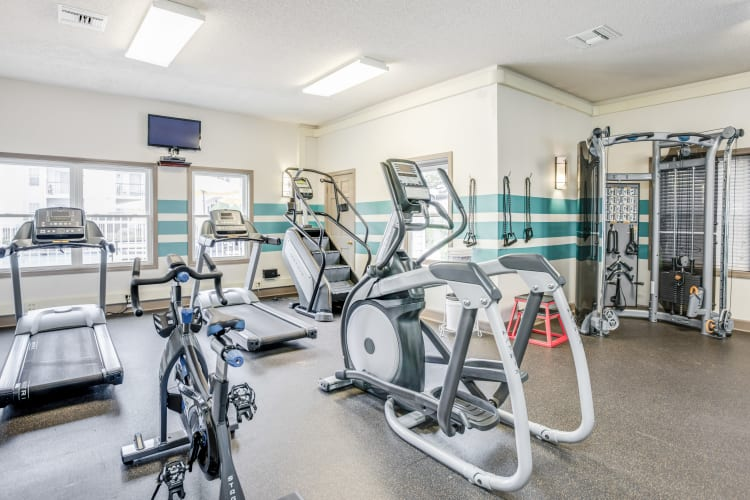 Fitness Center at Middletown Ridge Apartments