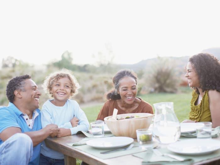 Happy IMT Rancho Serrano Townhomes family enjoying the neighborhood in Thousand Oaks, CA
