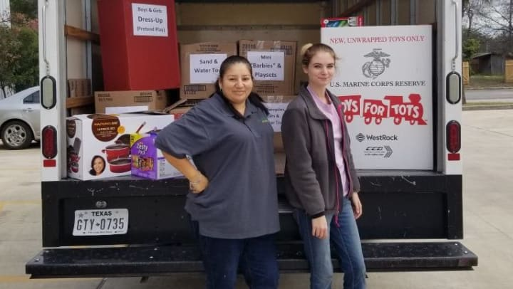 Toys for Lots of Tots in Converse, Texas. Thank you Lockaway Storage Customers!