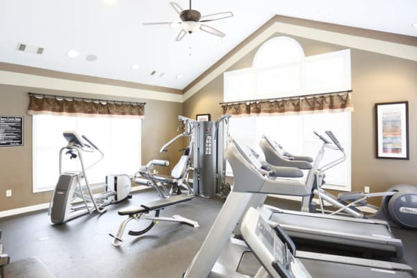 Fitness center at Brookstone in Rock Hill in Rock Hill, SC