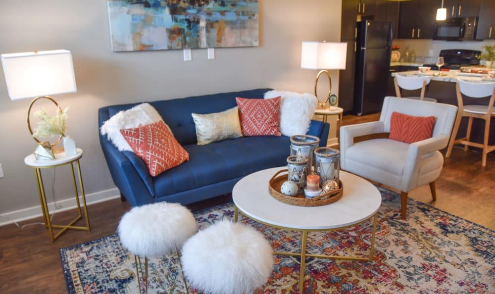 Living room at Springs at Port Charlotte in Port Charlotte