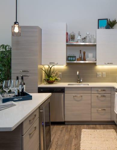 High end kitchen at Altitude in Atlanta, GA