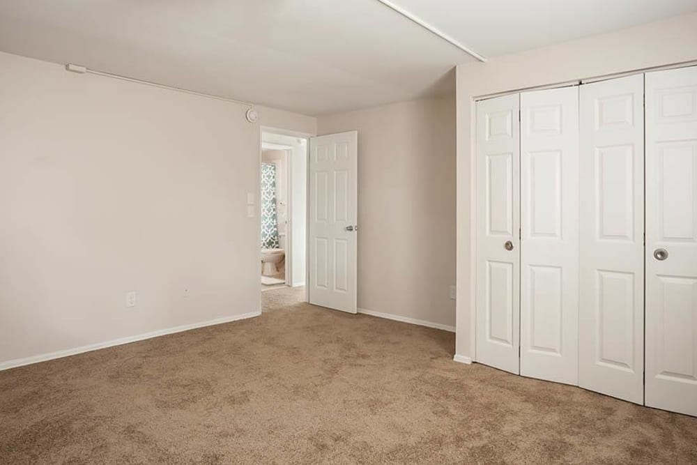 Open floor plan space at Long Pond Gardens Senior Apartments in Rochester, New York