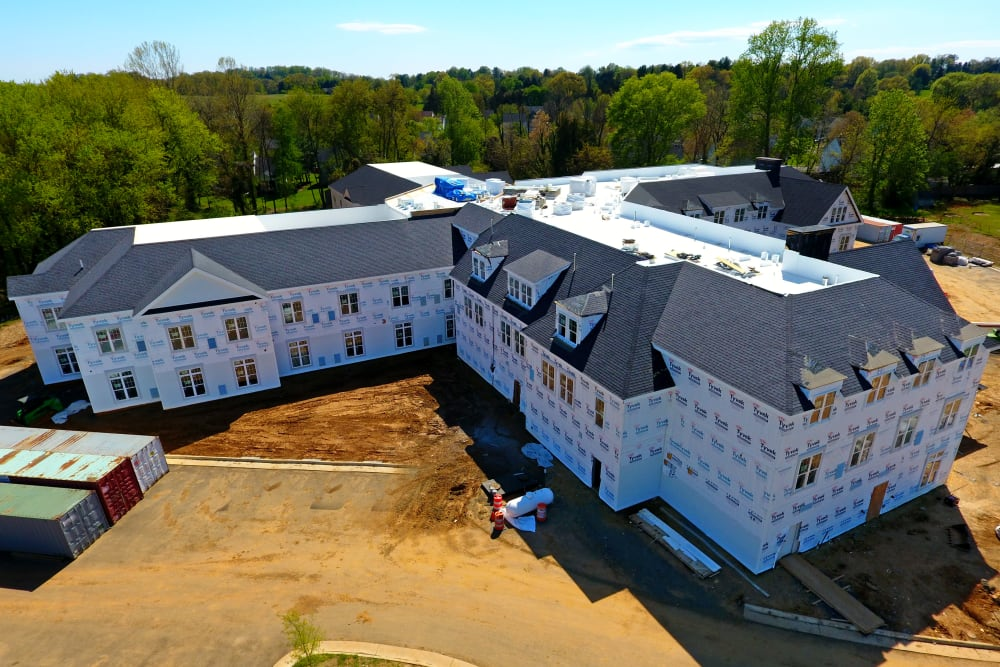 White Springs Construction Picture Back in Warrenton, Virginia