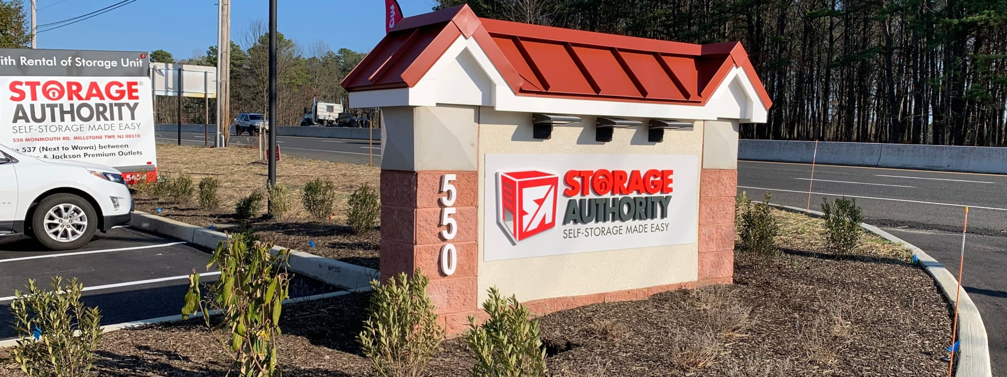 Storage Authority Monmouth Rd self storage in Millstone Township, New Jersey