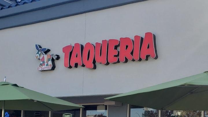 Taqueria El Burrito Sign