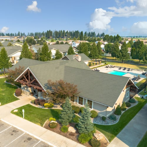 Aerial view of Coast Property Management in Everett, Washington
