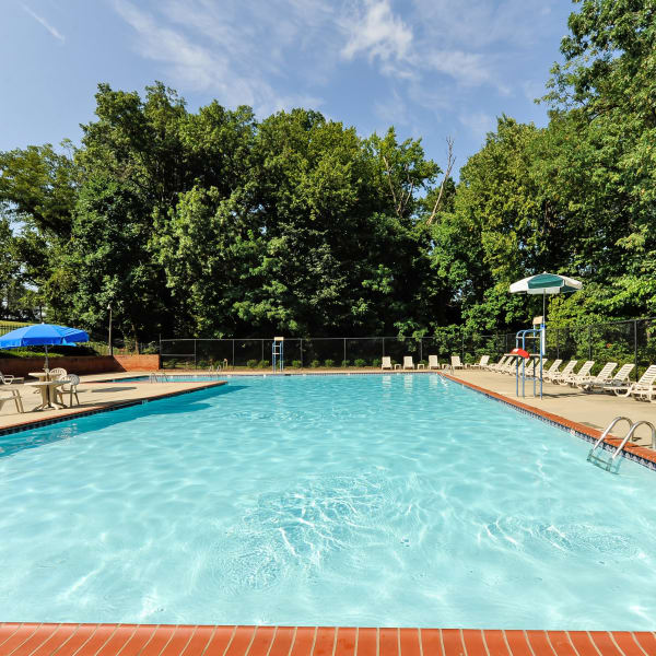 Parke Laurel Apartment Homes offers a swimming pool in Laurel, MD