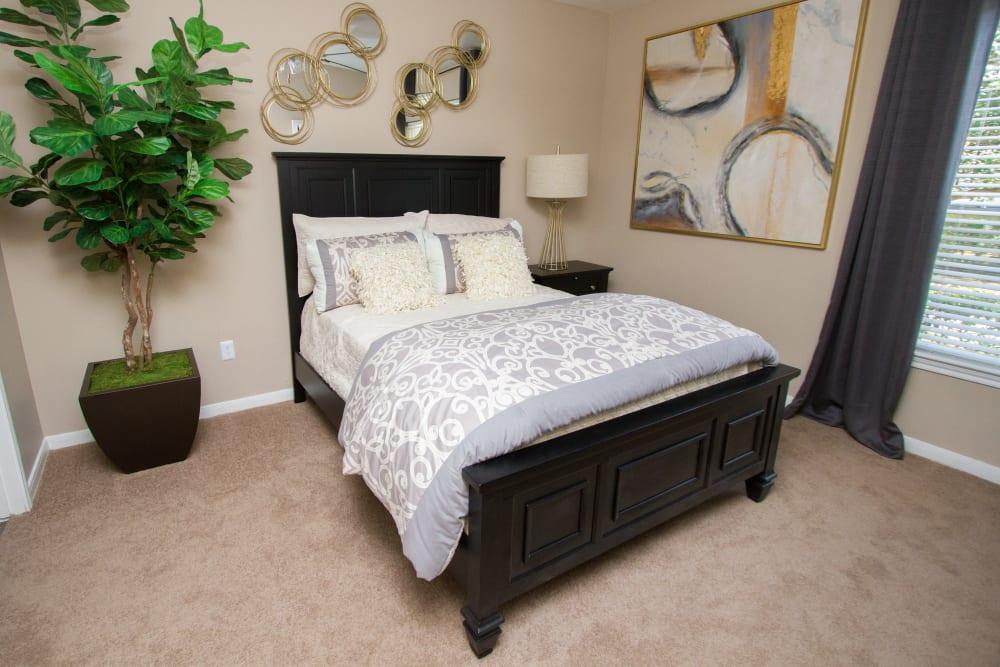 apartment bedroom at Veranda in Texas City, Texas