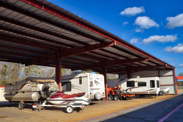 RV Storage at Lockaway Storage in Texarkana, Texas