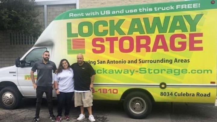 Lockaway Storage on Culebra Road Donates Moving Truck to Local Shelter