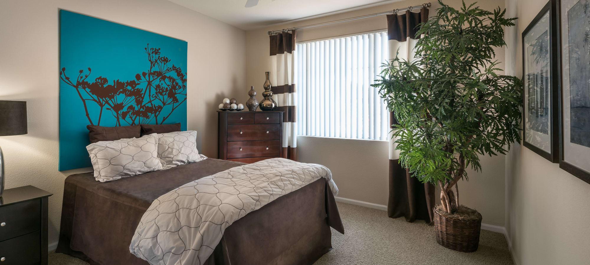 Open master bedroom Azul at Spectrum in Gilbert, Arizona