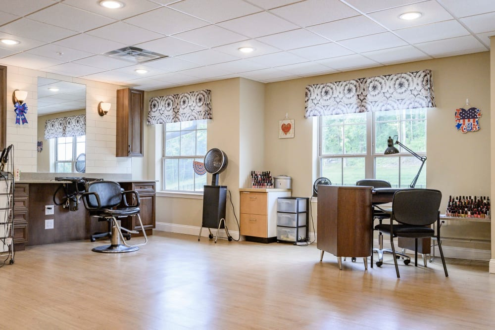 Onsite salon at Harmony at Brentwood in Brentwood, Tennessee