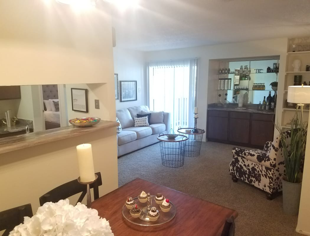 Amenities At The Chimneys Apartments Includes Washer