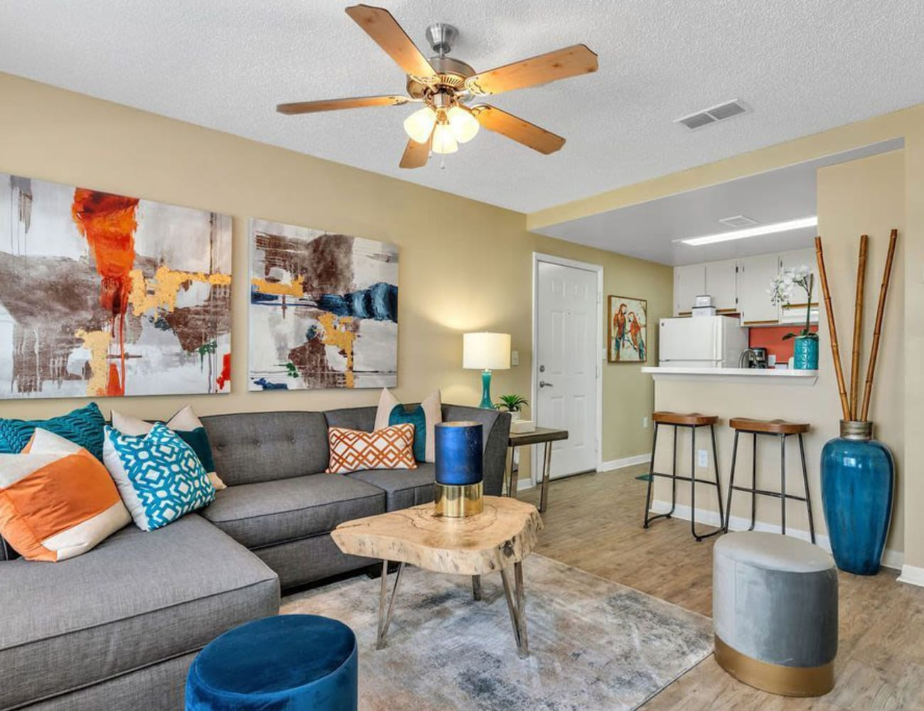 A beautiful apartment home at The Braxton in Palm Bay, Florida