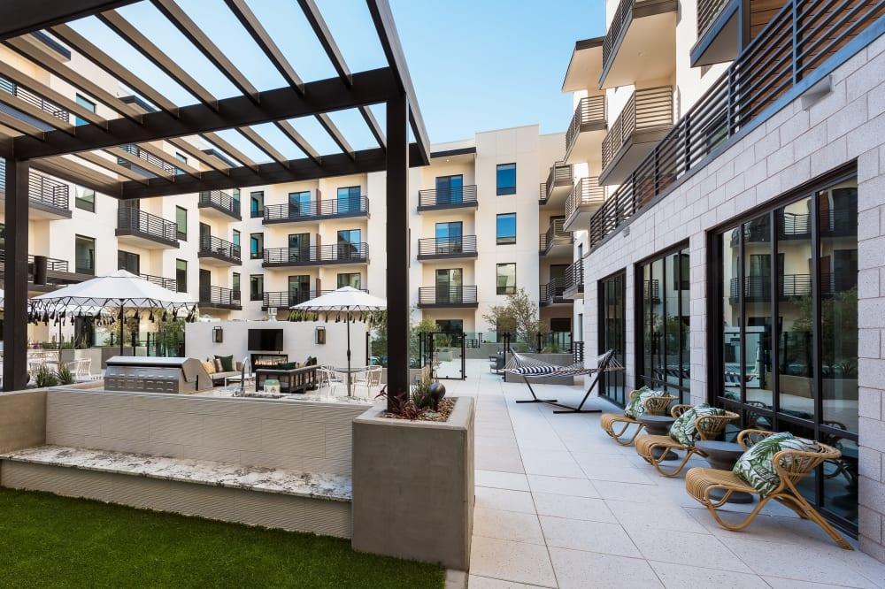 View amenities at Gramercy Scottsdale in Scottsdale, Arizona