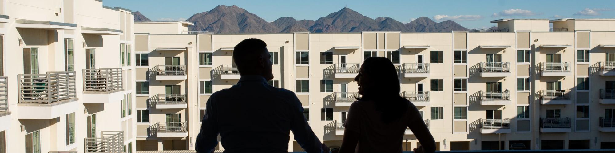 Floor plans at Villa Vita Apartments in Peoria, Arizona