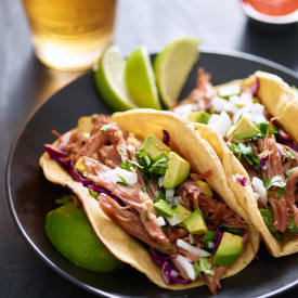 Get some delicious tacos at Onion Creek Luxury Apartments  in Austin, Texas