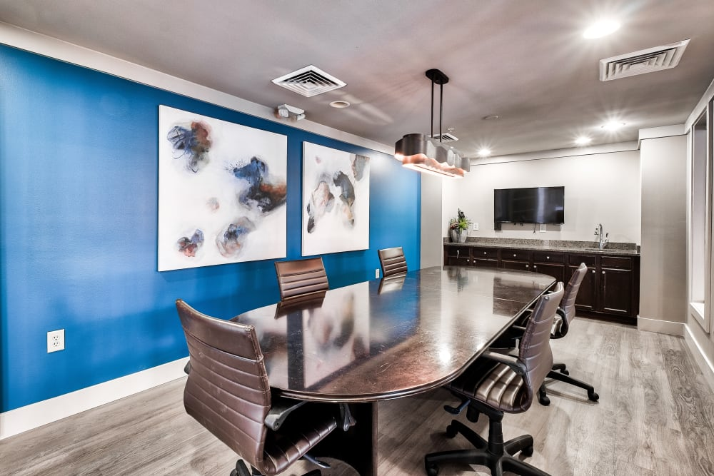 Enjoy Apartments with a Business Conference Room at The Quarters at Towson Town Center in Towson, Maryland
