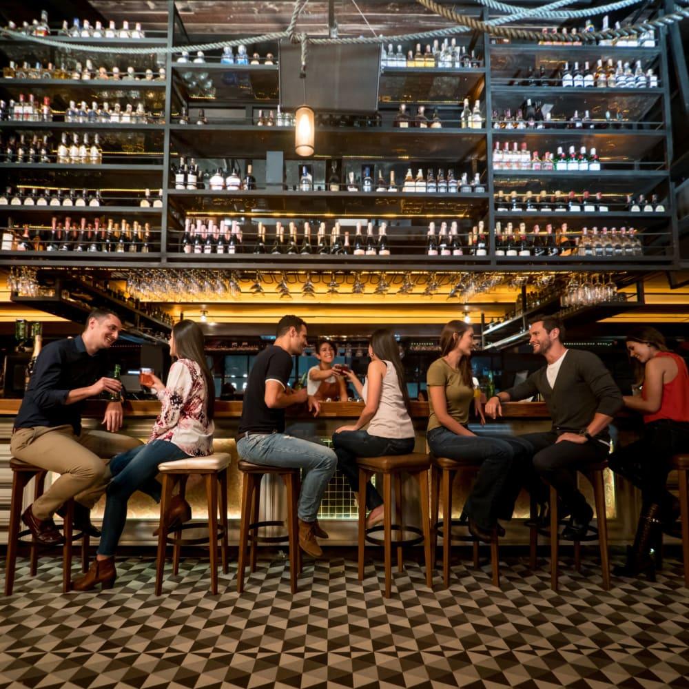 A bar near 401 Oberlin in Raleigh, North Carolina