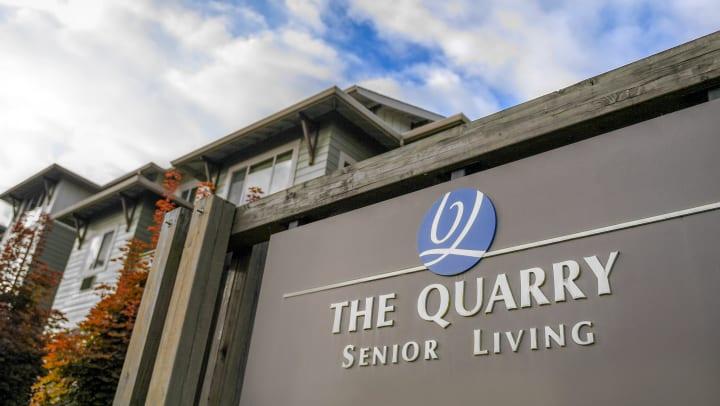 Quarry Terrace Entrance