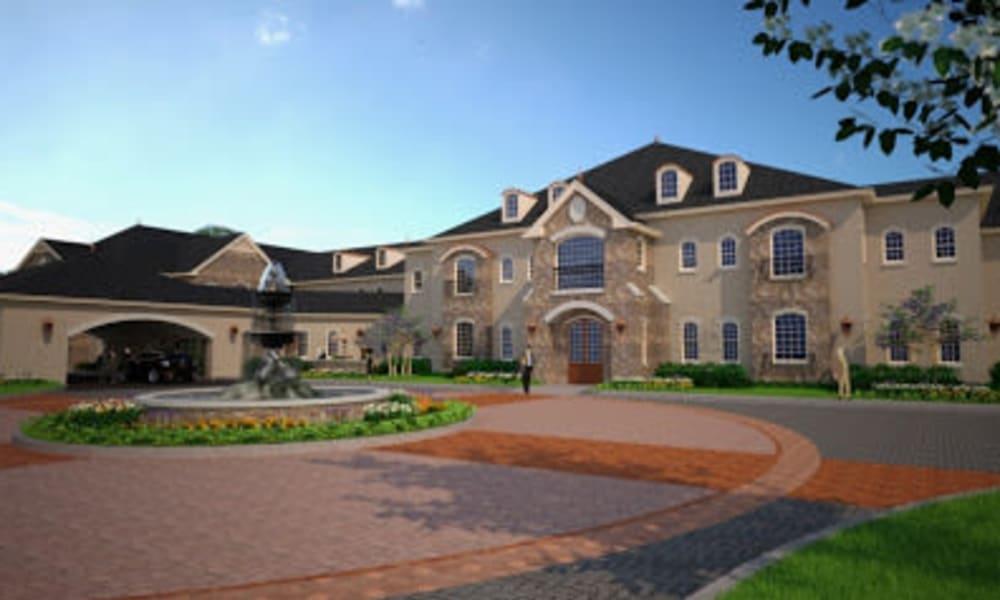 exterior of Worthington Manor in Conroe, Texas