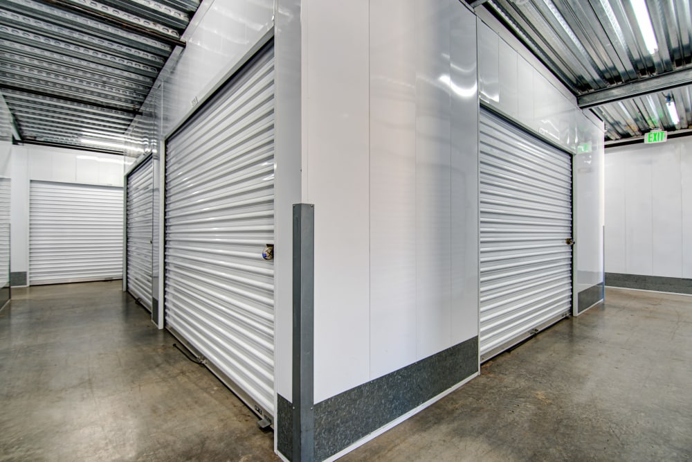 Variety of interior unit sizes at San Marcos Mini Storage in San Marcos, CA