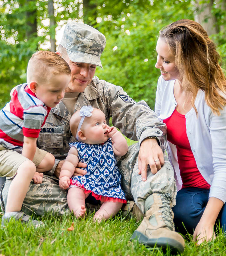 We Support our military at First Montgomery Group