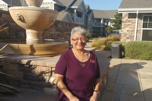 Lydia L. Perez at Osprey Heights Gracious Retirement Living in Valrico, Florida