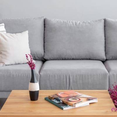 Open floor plan living area at Sofi Danvers in Danvers, Massachusetts