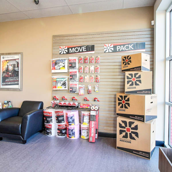 Packing supplies sold at StorQuest Express Self Service Storage in Cape Coral, Florida