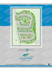 Site map of Cascade Falls Apartments in Akron, Ohio