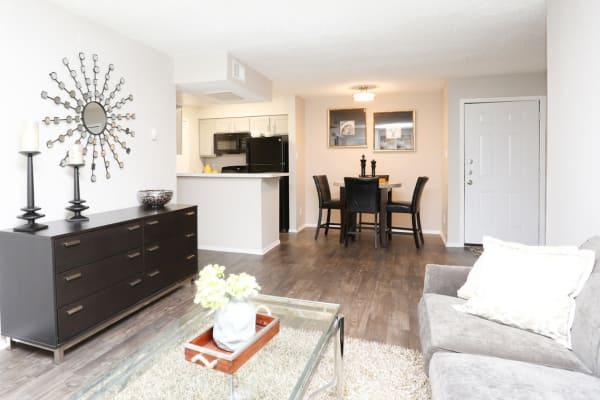 Beautiful apartment interior at Sedona Canyon in San Antonio, Texas