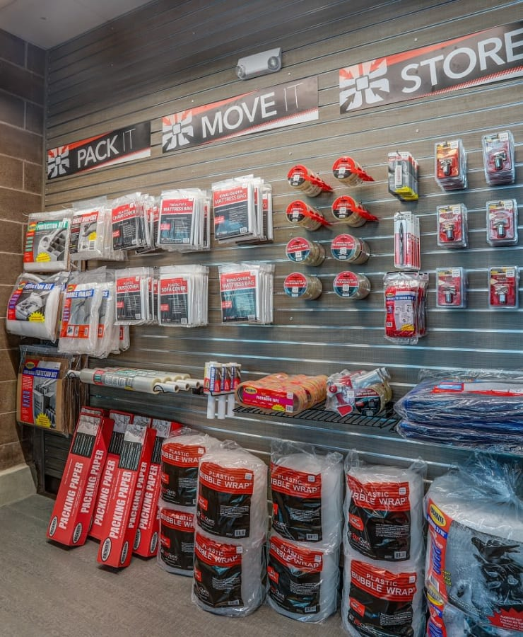 Packing supplies sold at StorQuest Self Storage in Lakewood, Colorado