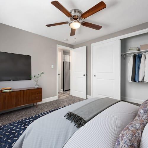 Spacious bedroom at Southglenn Place in Centennial, Colorado