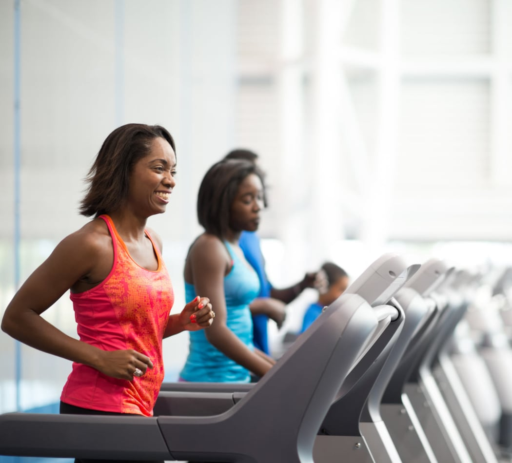 Spring Garden Apartments offers a fitness center in Silver Spring, MD