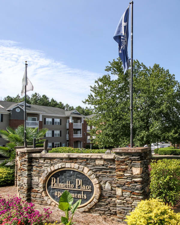 Exterior of Palmetto Place in Fort Mill, South Carolina