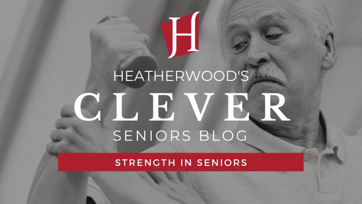 Strength in seniors.