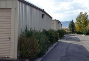 Drive up access storage in Gypsum CO at Gateway Secure Storage