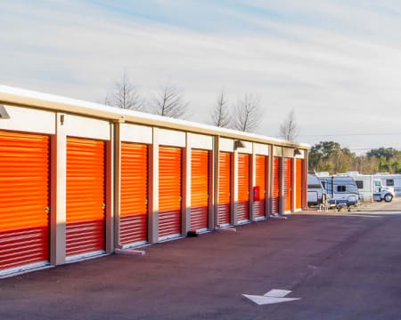 Drive up units available at StorQuest Self Storage in Federal Way, Washington.