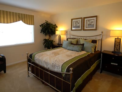 Spacious bedrooms at Harbor Place Apartment Homes