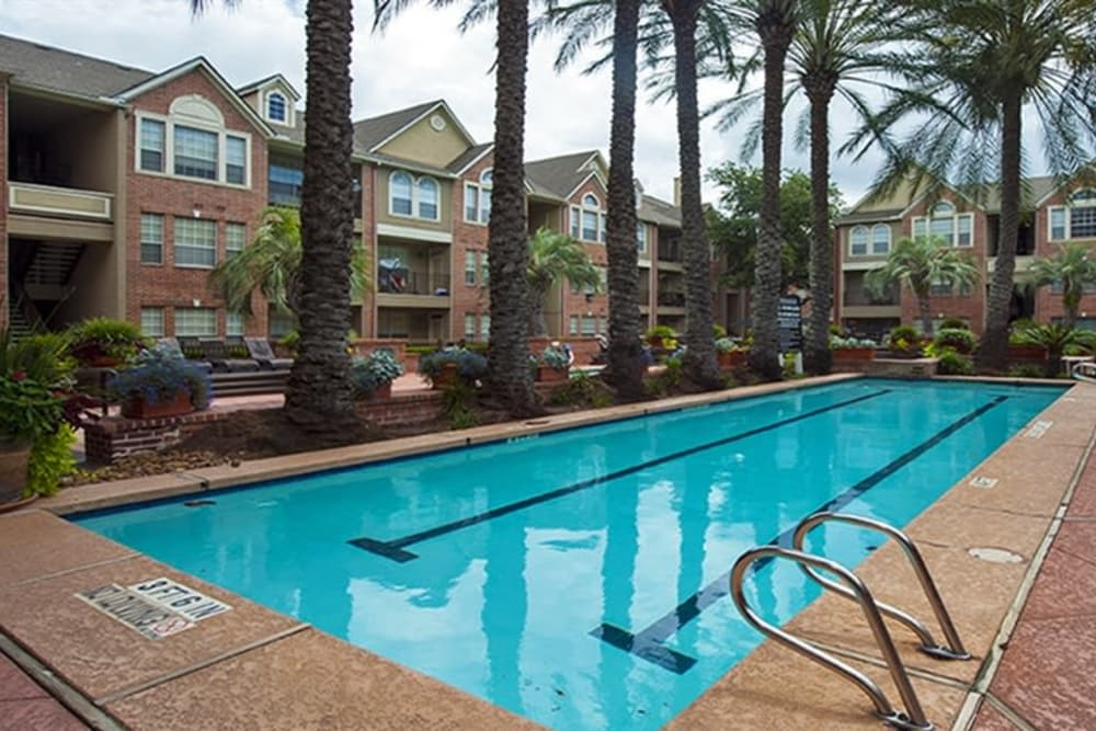 Lap Pool At The Westmore at Bellaire Apartments