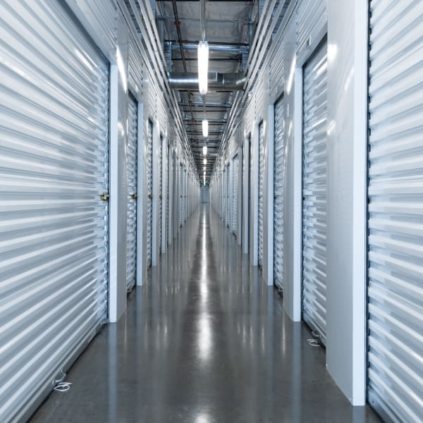 Climate-controlled units at StorQuest Self Storage in Seattle, Washington