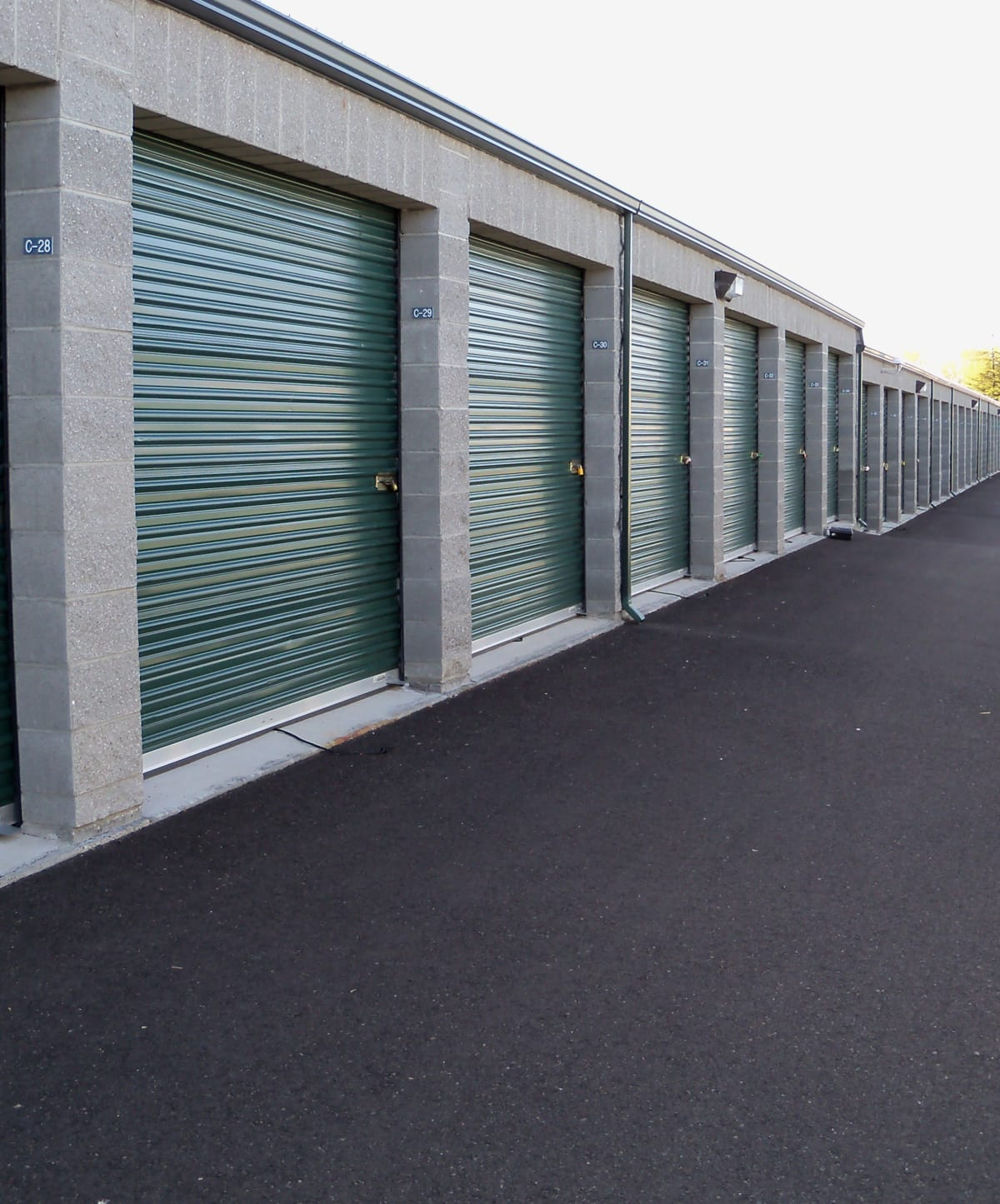 Indoor Storage Units at Cascade Self Storage in Medford, Oregon